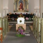 >Faster Fies begravelse og 9 cacher