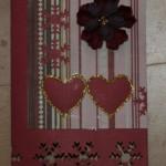 >Brian lavede scrap-kort til min fødselsdag