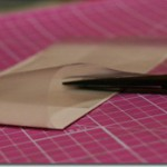 Tutorial på træk-ud-kort med plastikpose