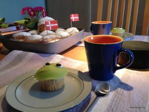 RØM-kager og fødselsdagsboller