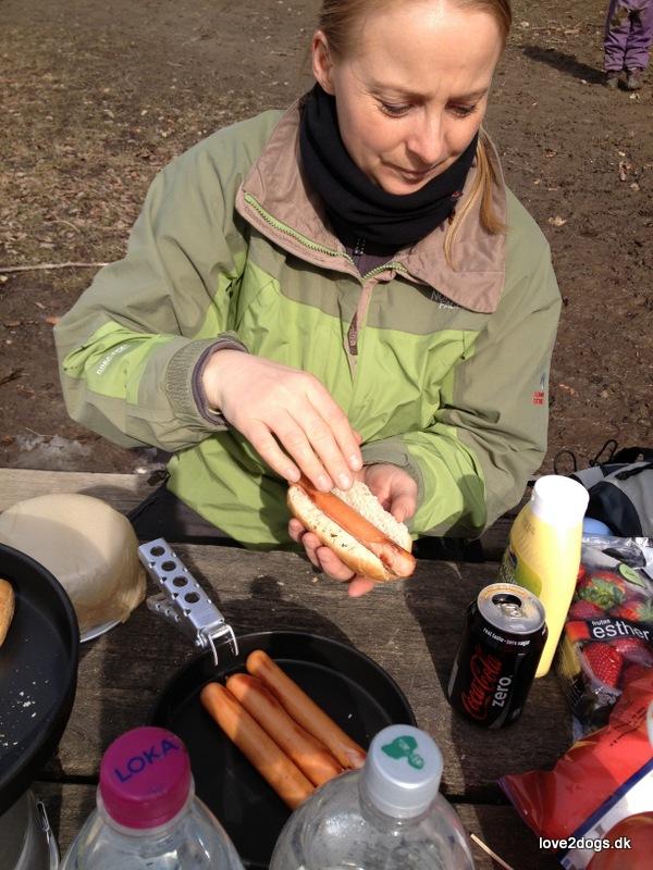 Hotdogs - en ristet med det hele.