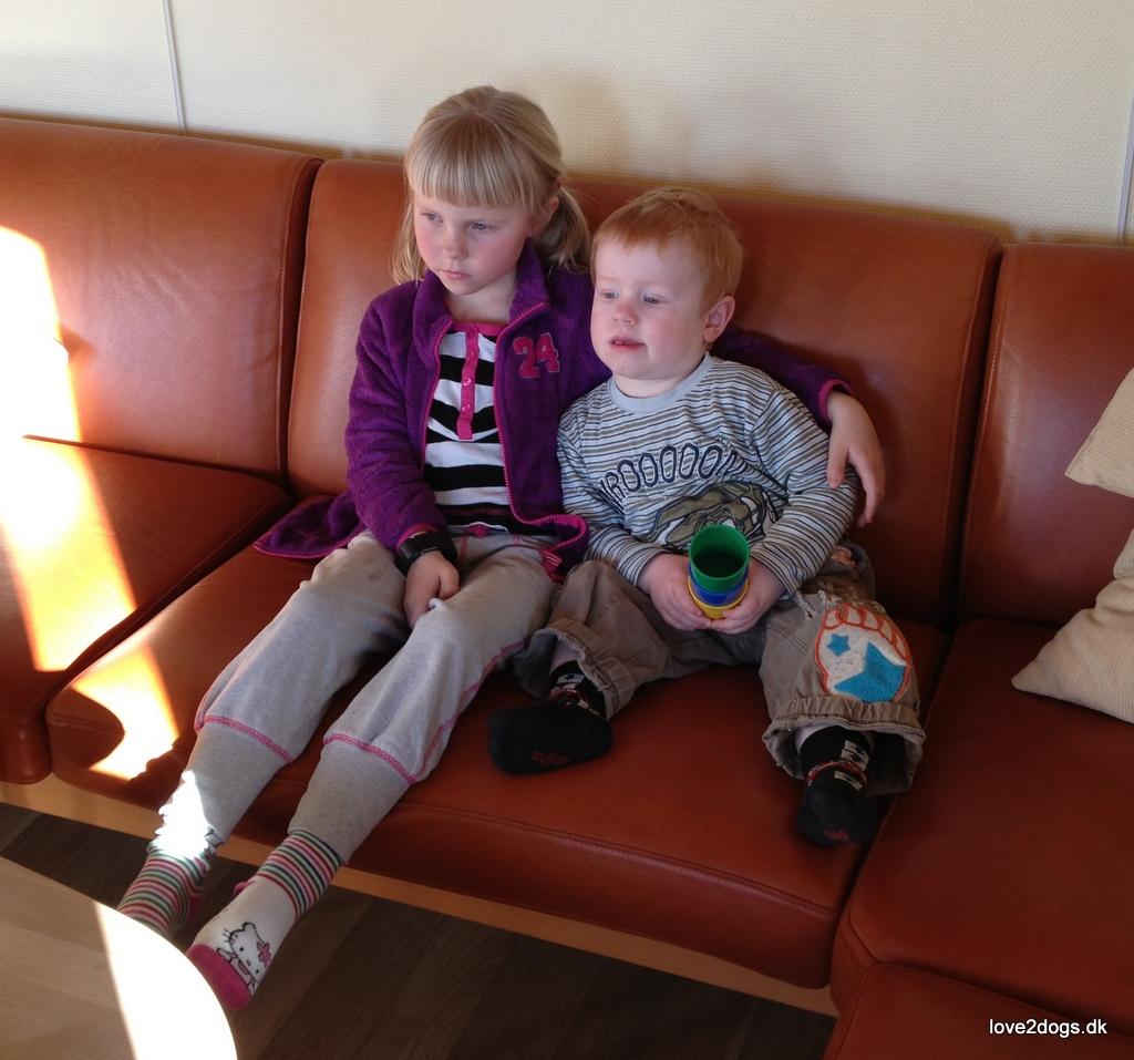 Sofa-filmhygge med fætter Philip