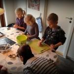 Legegruppe og småkagebagning