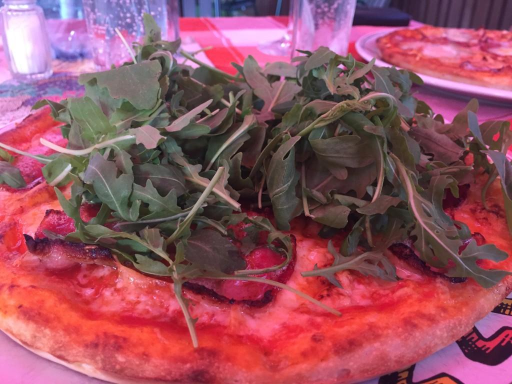 Min pizza...