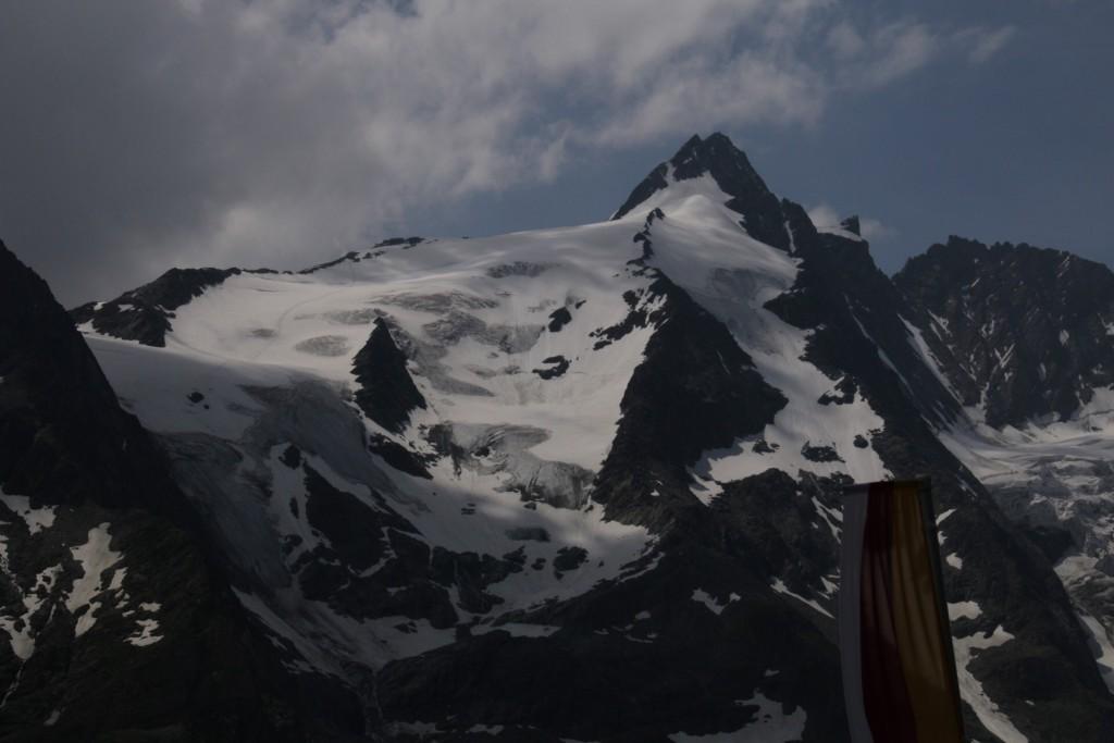 Østrigs højeste bjerg, GrossGlockner 3798 m.
