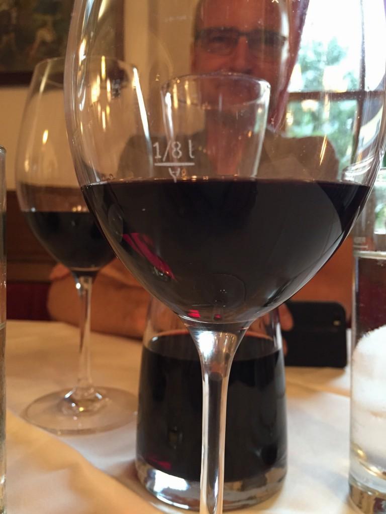 Rødvinen er god!