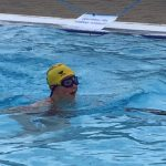 Svømning i Sæby-badet