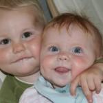 >Bror og søster