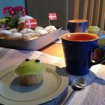 Fødselsdagsboller og RØM-kage