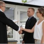 Jesper og Trines bryllup